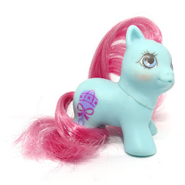My Little Pony Tattles Year Ten Teeny Pony Twins G1 Pony