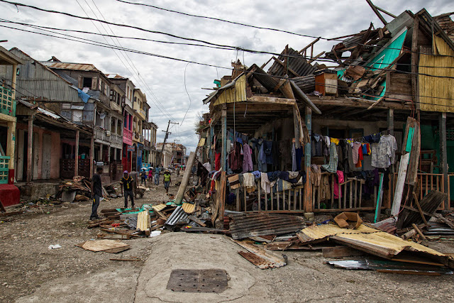 The United Nations called for assistance after the country lost $2.7 billion, or 32 percent of gross domestic product (GDP), as a result of Hurricane Matthew in Oct 2016.