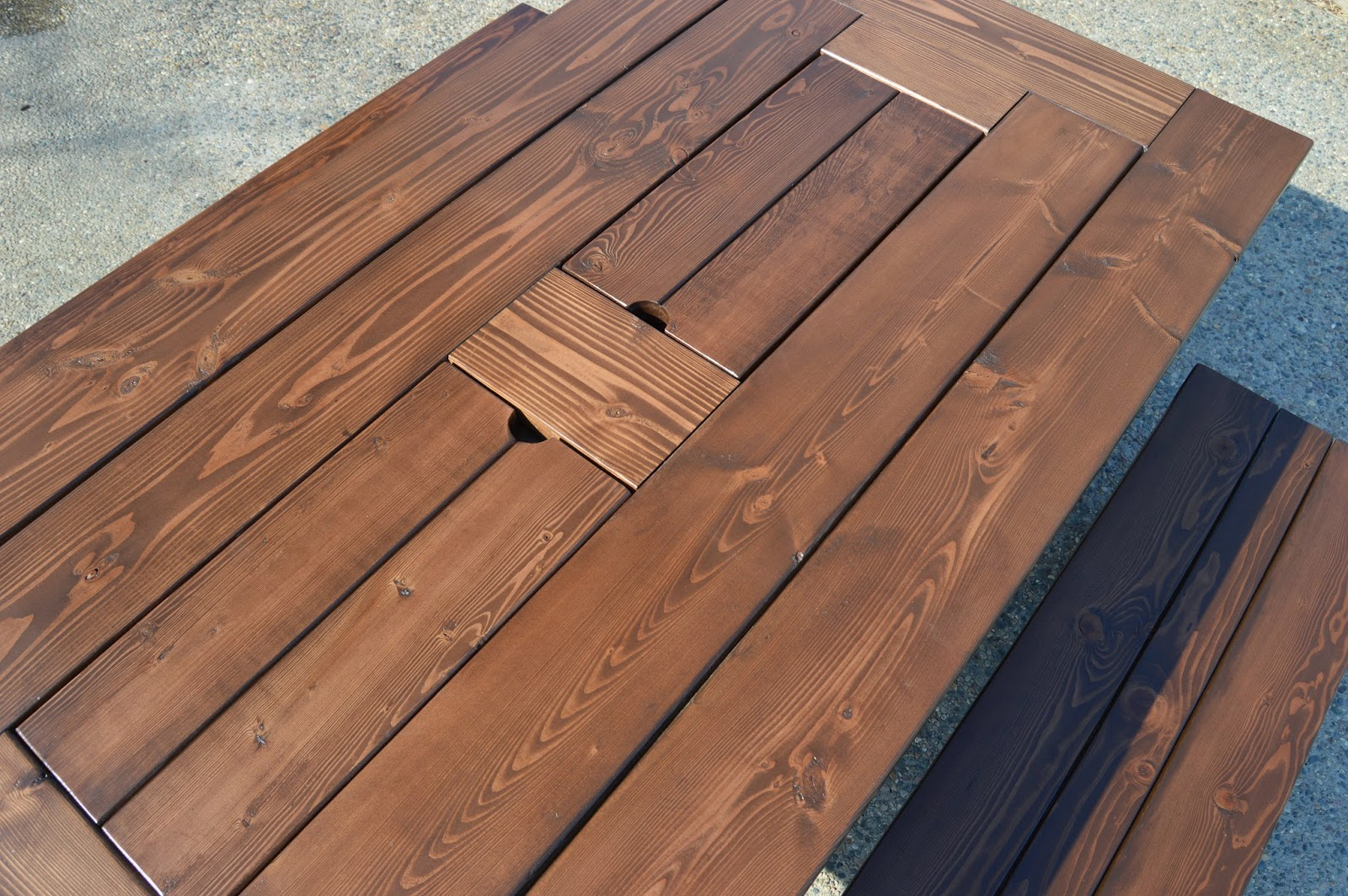 KRUSE'S WORKSHOP: Step by Step Patio Table Plans - With ...