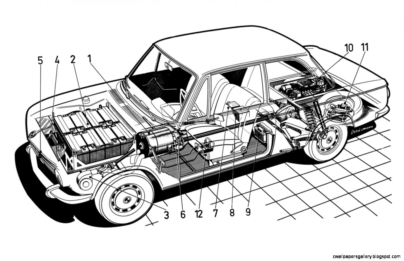 Diagram Of Electric Car