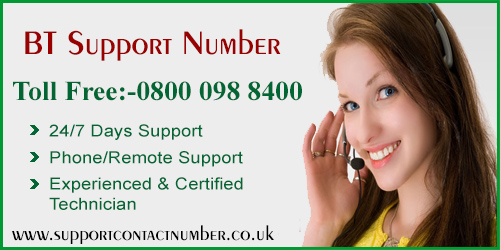 bt support number