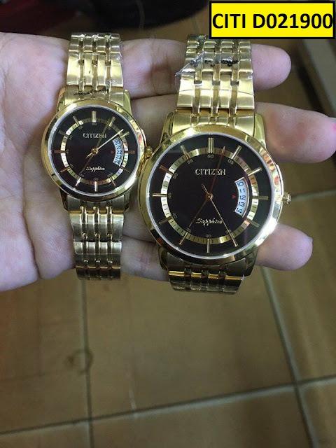 Đồng hồ cặp đôi Citi Đ021900