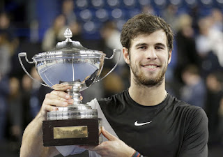 Karen Khachanov beats Lucas Pouille to win Open 13 final