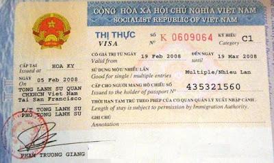 VISA tái nhập nhiều lần vào Việt Nam