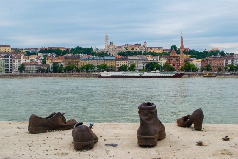 Shoes from the Danube River