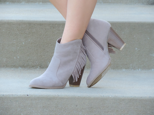 Shoetopia fringe boots
