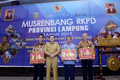 Gubernur Ridho Buka Musrenbang RKPD Provinsi Lampung 2019