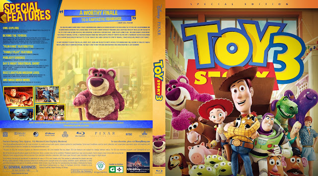 Toy Story 3 Bluray Cover