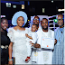 So Cute: Ubi Franklin And Lilian Esoro Dedicate Their Son, Jayden In Church [photos]