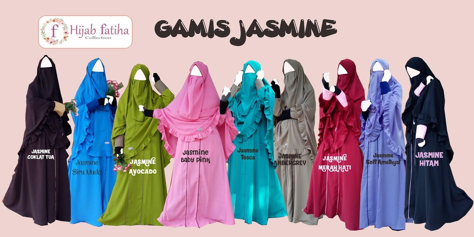 Gamis Jasmine Hijab Syar I Terbaru Gamis Syar I Terbaru 2019