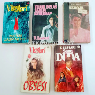 Jual Koleksi Novel V Lestari