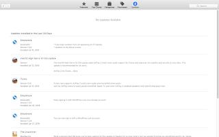update software di macbook