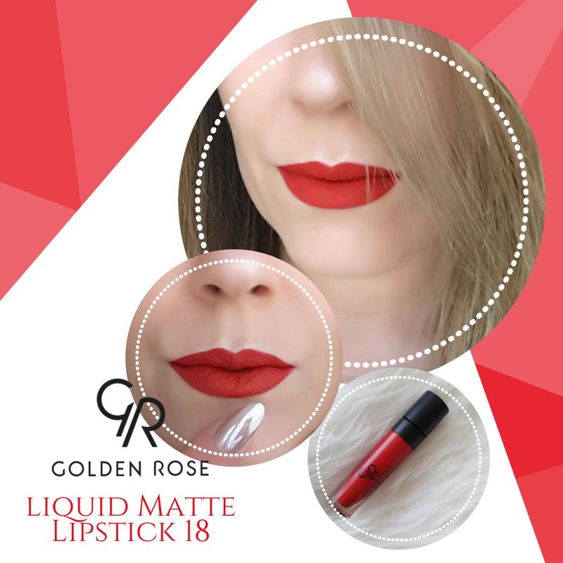 Golden Rose Longstay Liquid Matte Lipstick 18 Ruj Begendim Paylastim