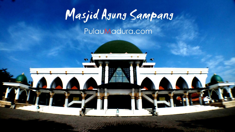 Hasil gambar untuk masjid agung sampang