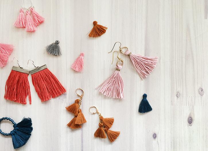 Make it: Tassel Earrings