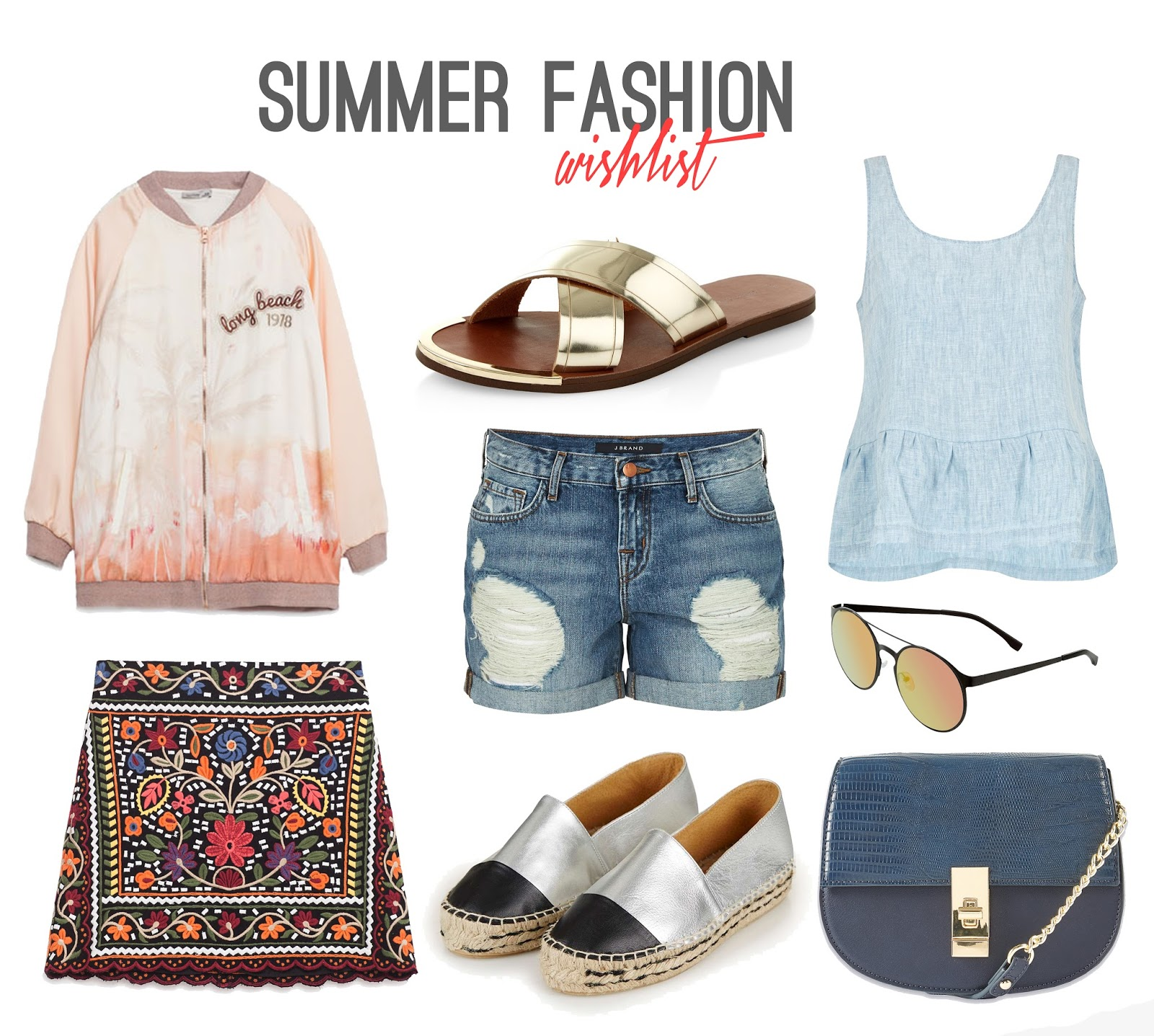 42a81c5d086 Fashion  Summer Wishlist