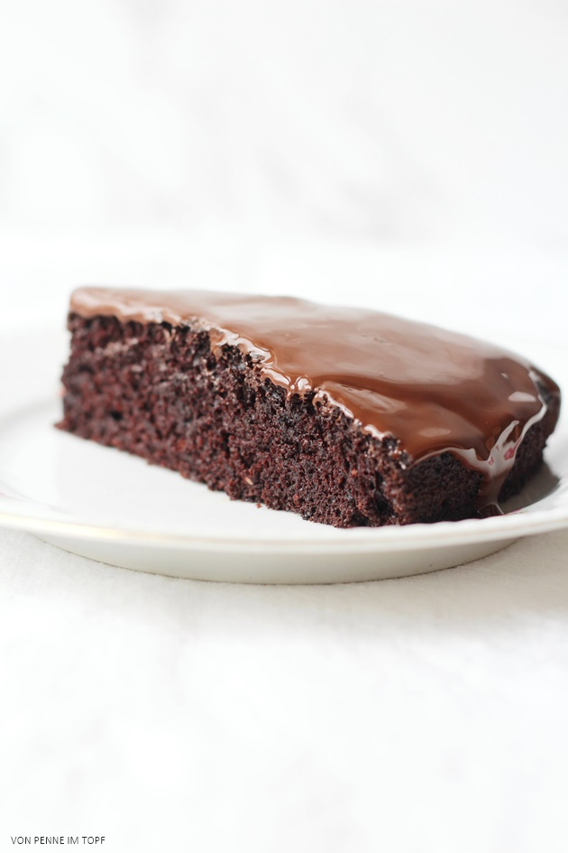 The Best Chocolate Cake Ever That Happens To Be Vegan