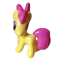 MLP Candy Ball Figure Apple Bloom Figure by Danli