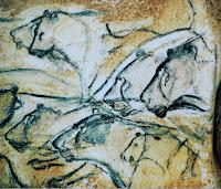 Panthera leo spelaea en pinturas rupestres de una cueva de Francia