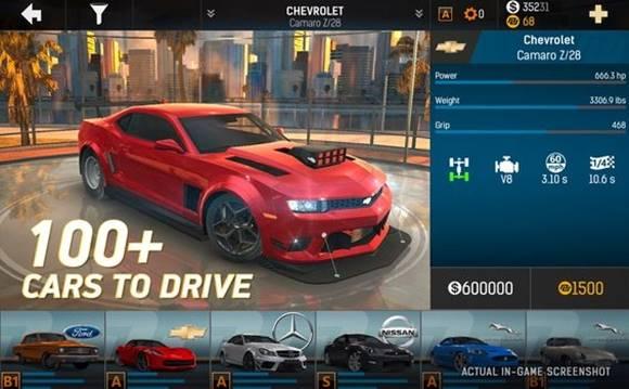 Download Nitro Nation Drag Racing v6.0 Mod Apk (Free Repair) + OBB Data Terbaru