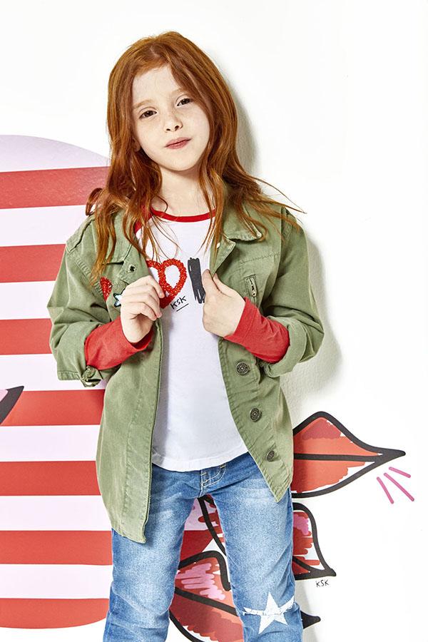 Moda otoño invierno 2018 ropa para niñas.
