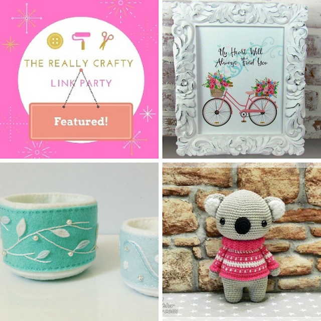 The Really crafty Link Party #102 featured posts