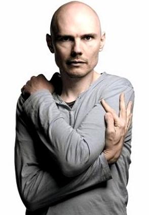 Foto de Billy Corgan posando para fans