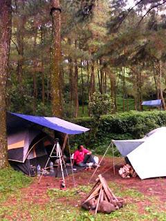 Tenda Camping Curug Kalimata