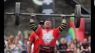 Jonathan Kelly in The UK'S Strongest Man Final on Aug'27th in Belfast