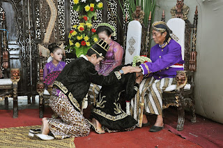 susunan Pernikahan Adat Jawa