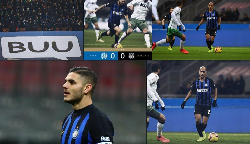 Inter Sassuolo, risultato finale senza gol a San Siro nella prima di Serie A del 2019