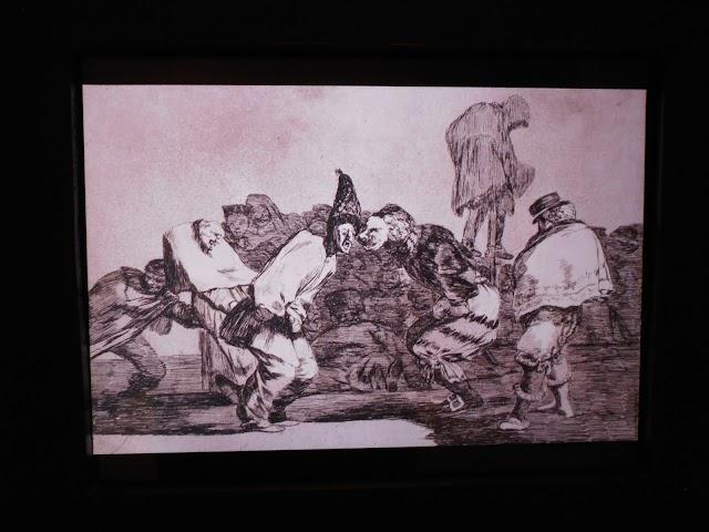 Los Disparates. Goya