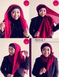 Tips Dan Model Hijab Yang Cocok Untuk Wajah Bulat Agar Tetap Cantik