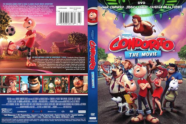 Condorito The Movie DVD Cover