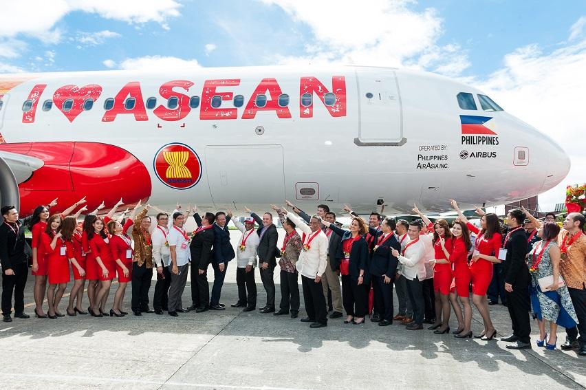 AirAsia I love Asean 50 aircraft