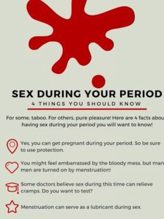 Can you have sex while your on your period
