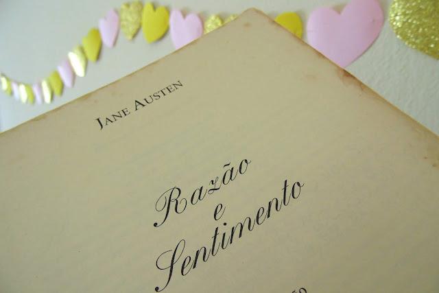 livro Razão e Sentimento escrito por Jane Austen