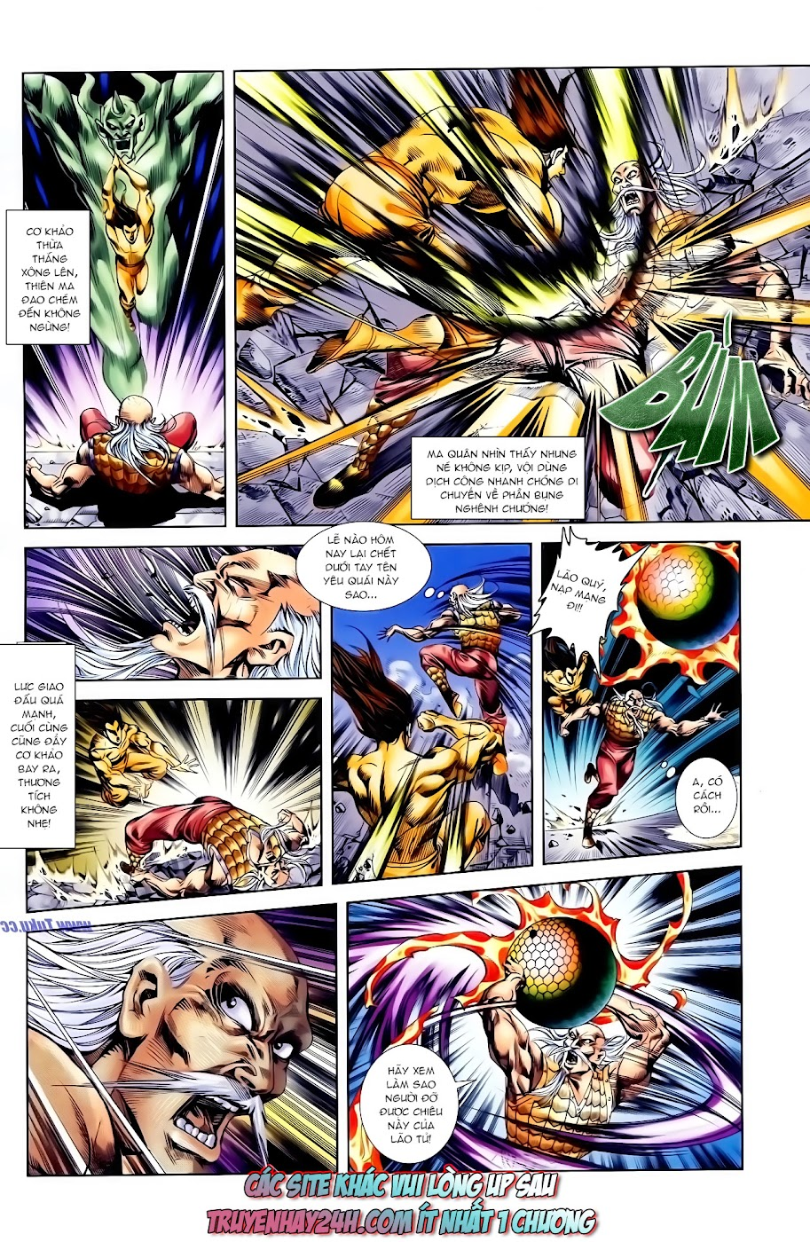 Cơ Phát Khai Chu Bản chapter 116 trang 31