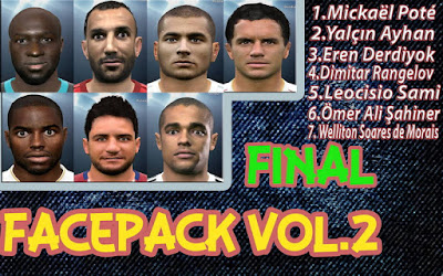 PES 2016 Facepack vol. 2 by ManiacArmy