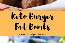 Keto Burger Fat Bombs