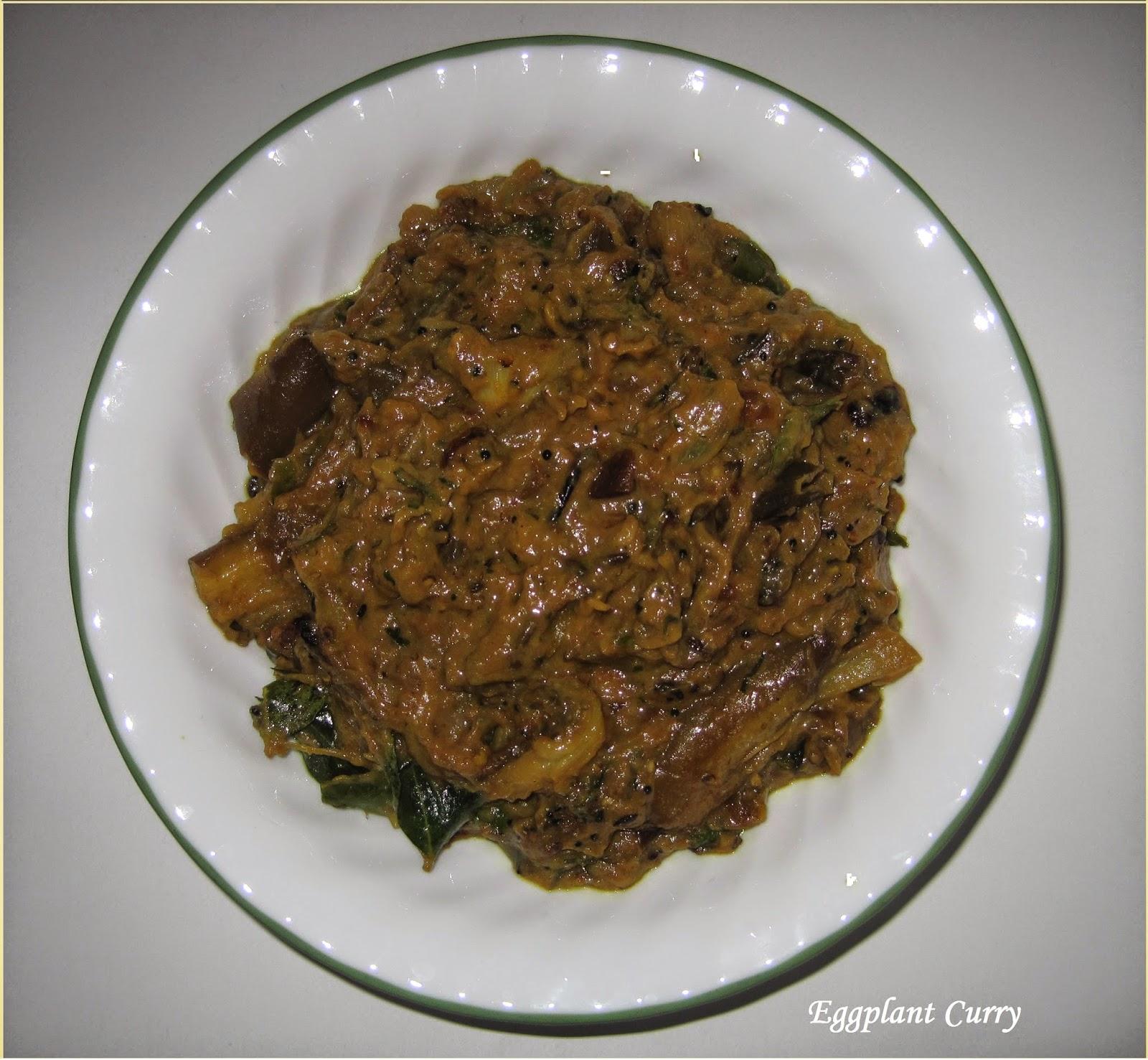 Ajantha's Food/Eggplant Curry