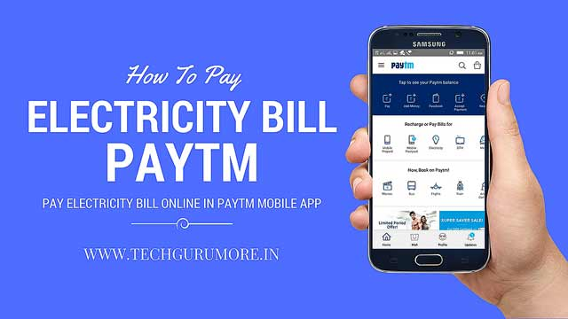 Pay Electricity Bill Online Paytm