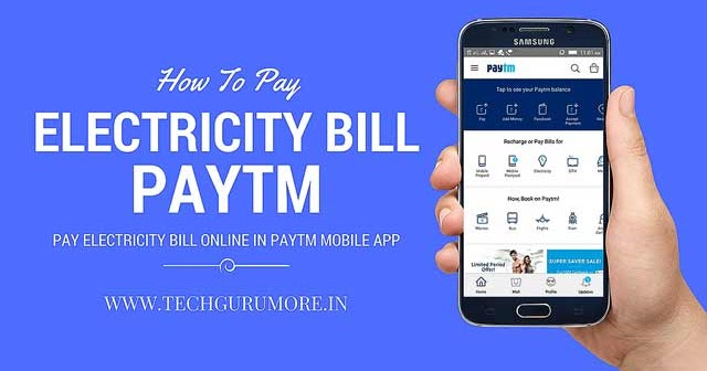Pay Electricity Bill Online In Paytm Mobile App [9 Steps ...
