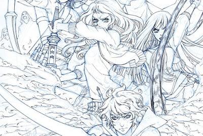 """Xian Nu Studio: Sketchbook"" [Fandogamia]"
