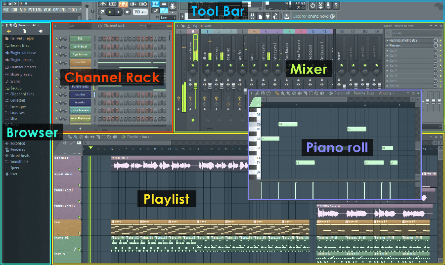 FL Studio 12 (#01): Conhecendo a Interface [Tutorial Iniciantes]