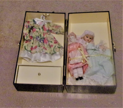 Porcelain dolls found at an estate sale