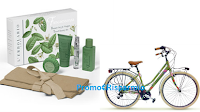 Logo Con L'Erbolario vinci 234 Beauty-Set da Viaggio Frescaessenza e 3 biciclette