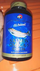 Salmon Fish Oil Omega 3 Minyak Ikan Isi 200 Softgel https://kios-v22.blogspot.co.id/
