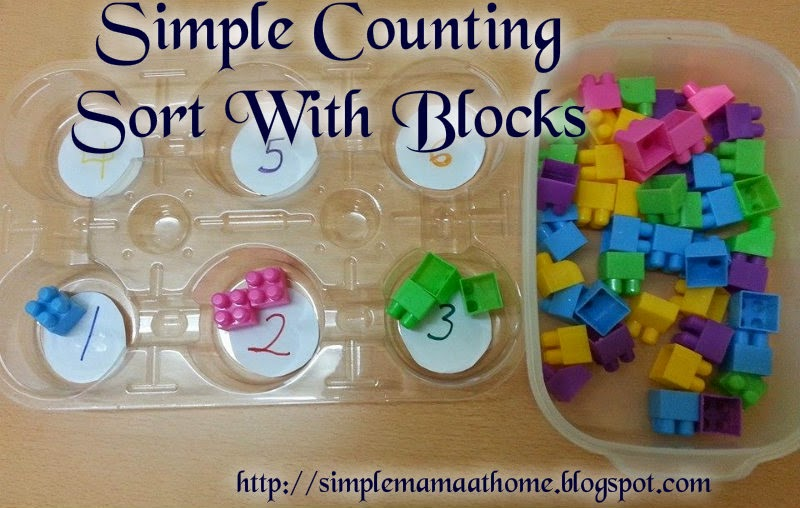 Learning to Count With Blocks