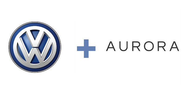 Volkswagen and Aurora announces Strategic Partnership at CES 2018 for Self-driving Technology